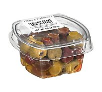 Fresh Pack Olive Mix Italian Pitted - 4.4 Oz