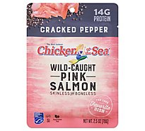 Chicken Of The Sea Wild Caught Skinless/Boneless Pink Salmon With Crckd Ppr - 2.5 Oz