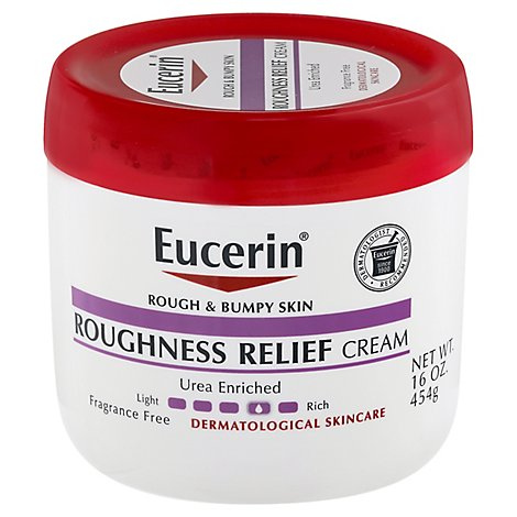 Eucerin Roughness Relief Cream Fragrance Free - 16 Oz