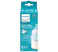 Avent Bottle Anti Colic Wide Neck With Airfree Vent 1m+ 9 Ounce - Each