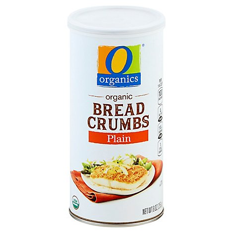 O Organics Bread Crumbs Plain - 9 Oz