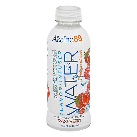 Alkaline88 Raspberry Flavored Water - 500 Ml