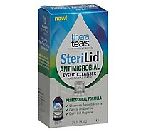 Thera Tears SteriLid Eyelid Cleanser And Facial Wash Antimicrobial - 2 Fl. Oz.