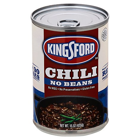Kingsford No Bean Chili - 16 Oz
