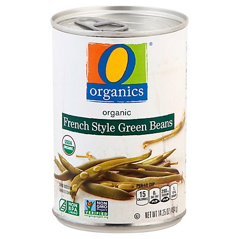 O Organics Green Beans French Style - 14.25 Oz