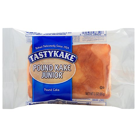 Tastykake Pound Cake Junior - 3 Oz