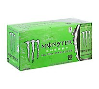 Monster Energy Drink Zero Sugar Ultra Paradise - 10-16 Fl. Oz.