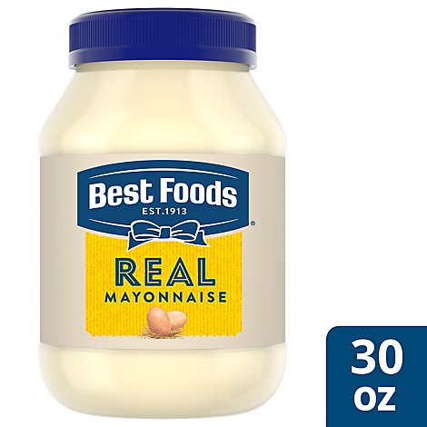 Best Foods Mayonnaise Real - 30 Oz