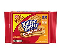 Nutter Butter Sandwich Cookies Peanut Butter Double Nutty Family Size - 15.269 Oz