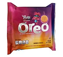 Oreo Sandwich Cookies Trolls World Tour - 10.7 Oz