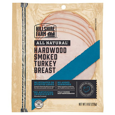 Hillshire Farm All Natural Hardwood Smoked Turkey Breast - 8 Oz