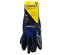 Stanley Gloves Nitrile Coated Large - Each
