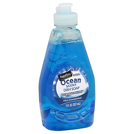 Signature Select Dish Soap Ocean Scent Liq - 7 Fl. Oz.