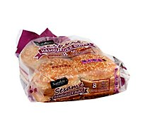 Signature Select Buns Hamburger Sesame - 14 Oz
