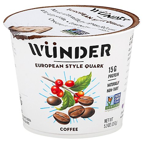 Wunder Creamery Quark Grass Fed Coffee - 5.3 Oz