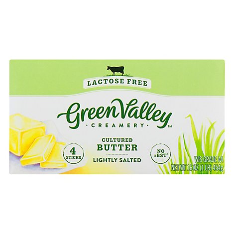 Green Valley Butter Lactose Free - 1 Lb