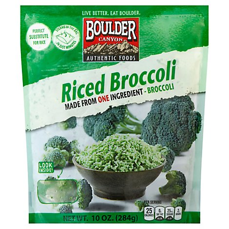 Boulder Canyon Riced Broccoli - 10 Oz
