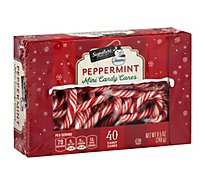 Signature Select Seasns Candy Canes Mini Shp - 8.5 Oz