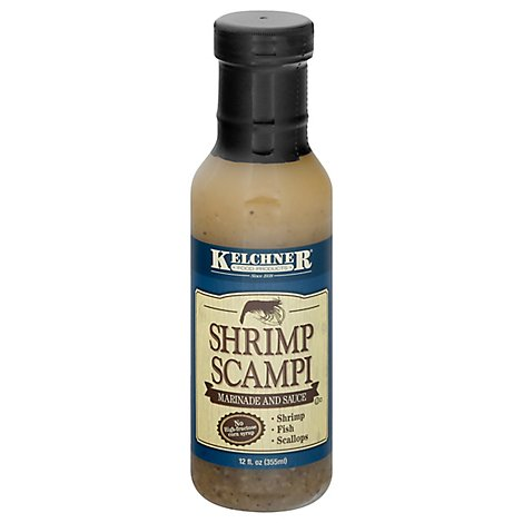 Kelchners Marinade And Sauce Shrimp Scampi - 12 Fl. Oz.