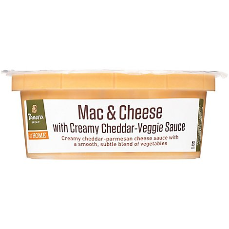 Panera Mac & Cheese With Creamy Cheddar-Veggie Sauce - 16 Oz
