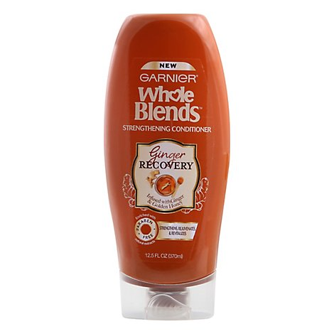Garnier Whole Blends Conditioner Strengthening Ginger Recovery - 12.5 Fl. Oz.