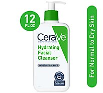 Cerave Hydrating Facial Cleanser - 12 Fl. Oz.