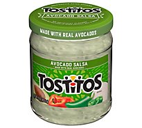 Tostitos Salsa Dip Avocado - 15 Oz