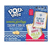 Pop Tarts Toaster Pastries Sugar Cookie Dear 12 Count - 20.3 Oz
