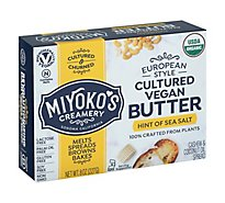 Miyokos Butter European Style Cultured Vegan - 8 Oz
