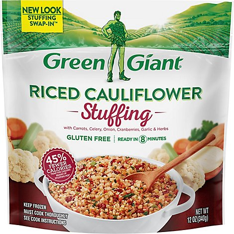 Green Giant Stuffing Riced Cauliflower - 12 Oz
