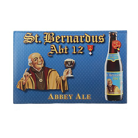 St Bernardus Abt 12 Ale Long Neck In Bottles - 4-11.2 Fl. Oz.
