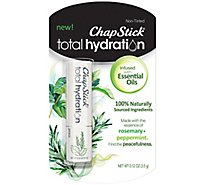 Chapstick Total Hydration Essential Oil Peace - 0.12 Oz