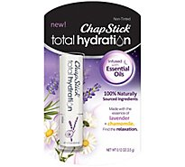 Chapstick Total Hydration Essential Oil Relax - .12 Oz