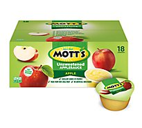 Motts Apple Sauce Unsweetened Tub - 70.2 Oz