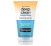 Neutrogena Deep Clean Foaming Scrub Invigorating - 4.2 Fl. Oz.