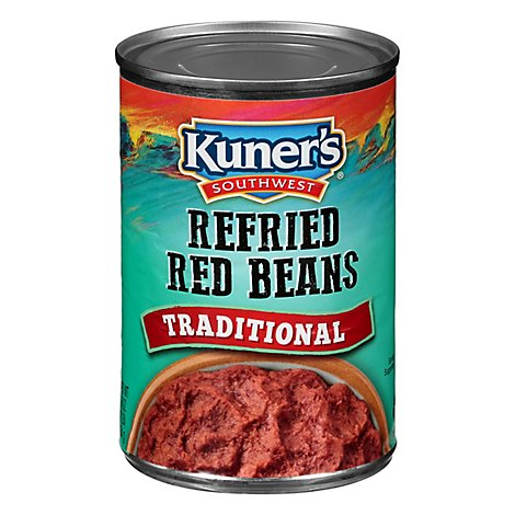 Kuners Southwest Red Refried Beans - 16 Oz