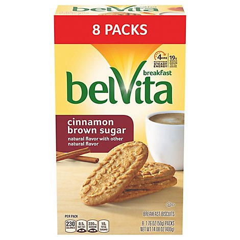 Belvita Cinnamon Brown Sugar Cookie - 14.11 Oz