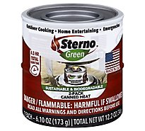 Sterno Green Canned Heat - 2-6.10 Oz