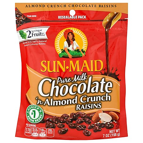 Almonds And Milk Chocolate - 7 Oz