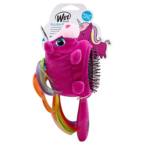 WetBrush Hairbrush Plush Unicorn - Each