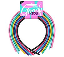 Goody Headbands Everyday Shoestring Mylar Mixed - 8 Count