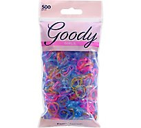 Goody Girls Elastics Latex Glitter - 500 Count