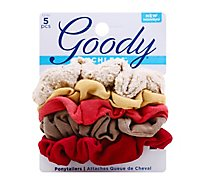 Goody Ouchless Ponytailers Assorted - 5 Count