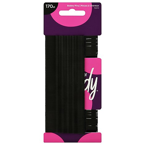 Goody Bobby Pins Black Value Pack - 170 Count