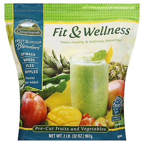 Campoverde Blenders Fruit & Veggie Fit & Wellness - 32 Oz