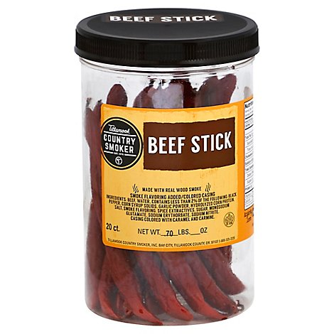 Tillamook Country Smoker Beef Stick 20 Count - 0.7 Lb