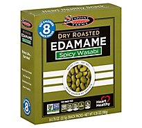 Seapoint Farms Edamame Dry Roasted Spicy Wasabi - 8-0.79 Oz