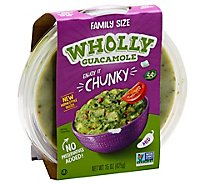 Wholly Guacamole Chunky Bowl - 15 Oz