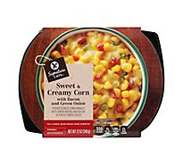 Signature Cafe Bacon And Green Onion Creamy Corn Side Dish - 12 Oz
