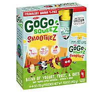 Materne Gogo Squeez Stawberry Banana Smoothiez - 4-4.2 Oz